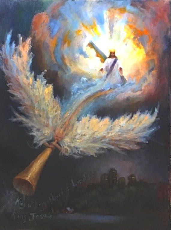 Christian Wall Art Jesus Painting Print