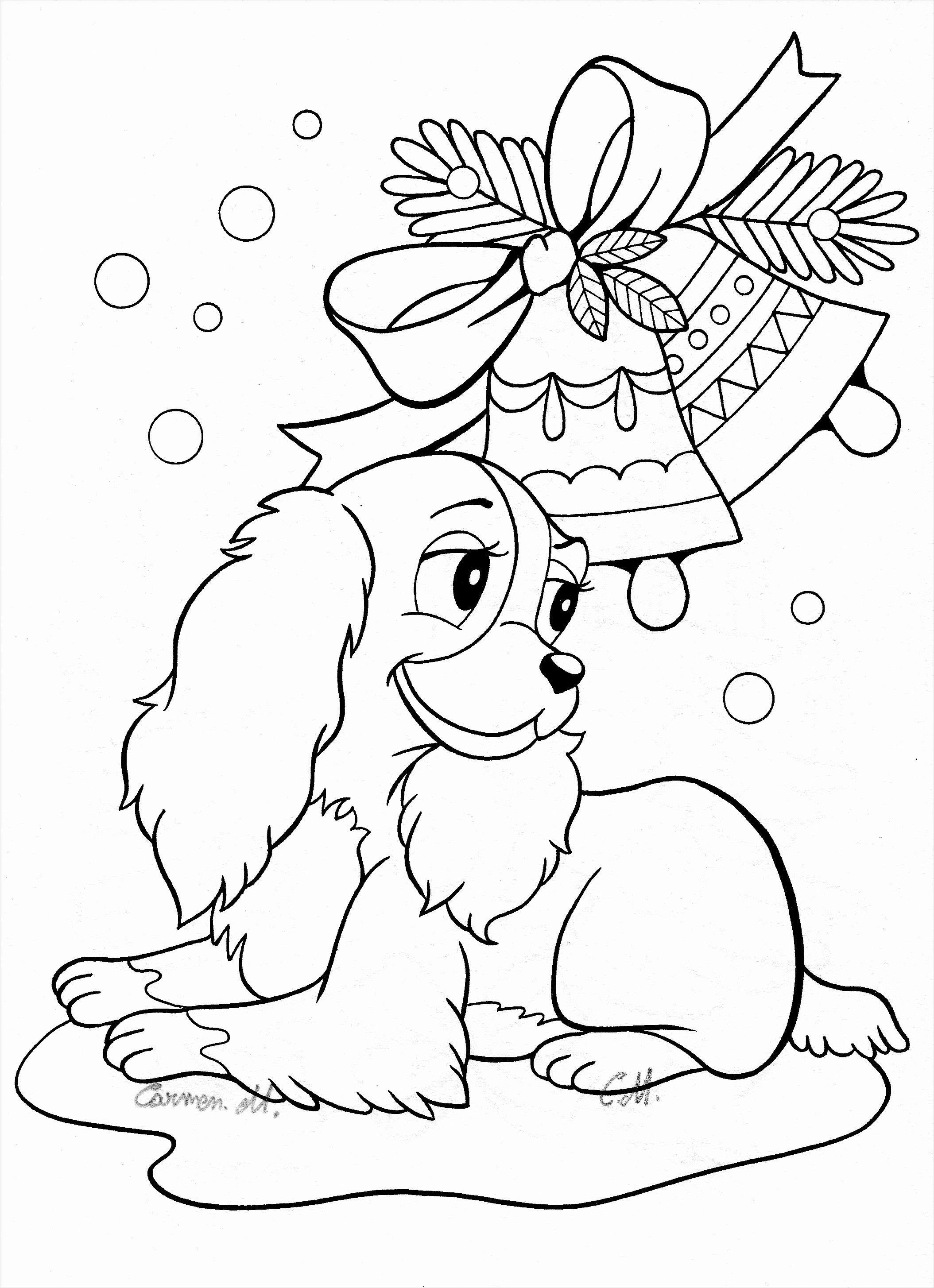 Cute Dog Coloring Pages Through The Thousands Of Photos On The Web Regarding Printable Christmas Coloring Pages Disney Coloring Pages Mermaid Coloring Pages