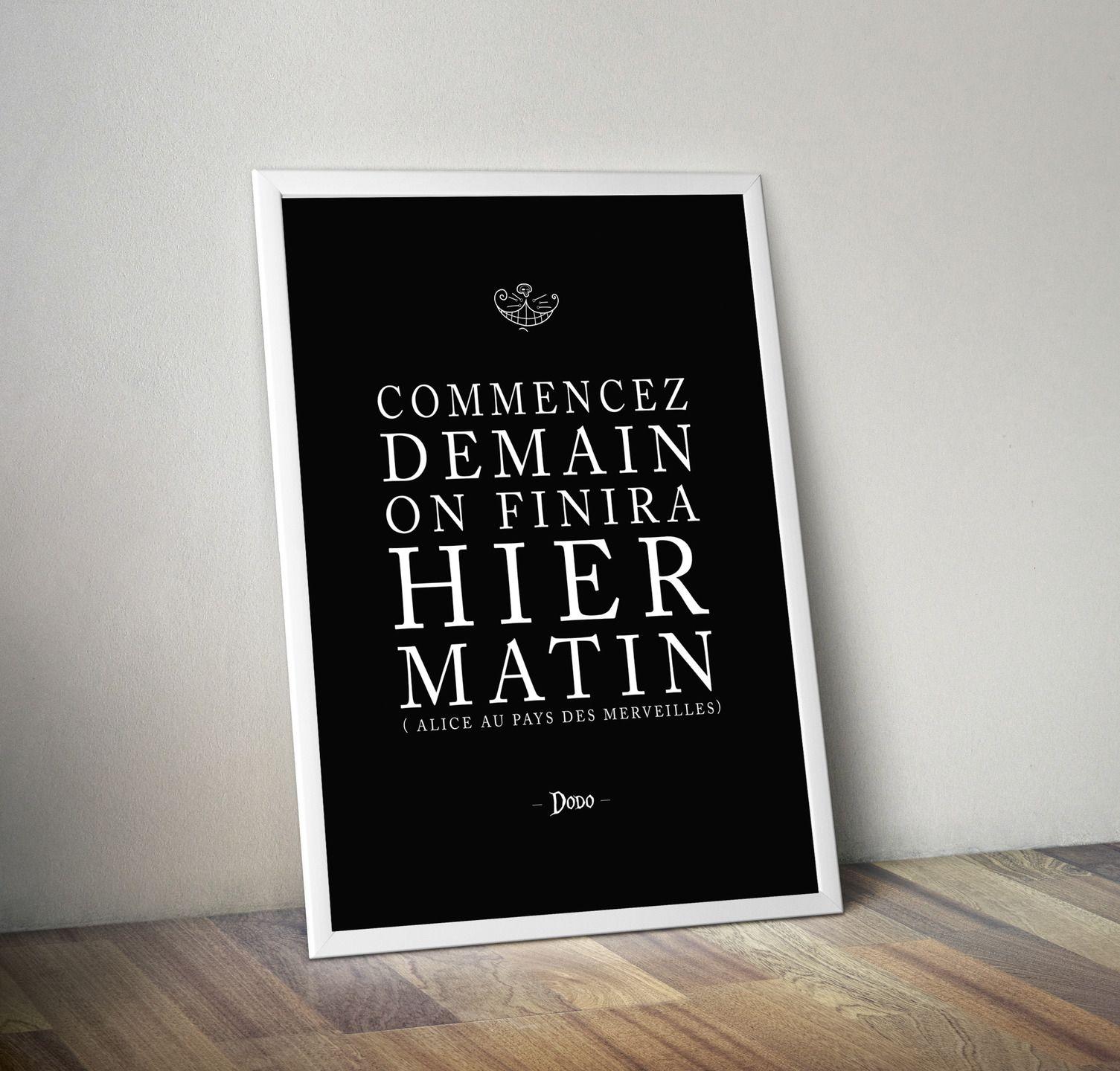 affiche poster cadre alice aux pays des merveilles autres par rgb affiches illustrations. Black Bedroom Furniture Sets. Home Design Ideas