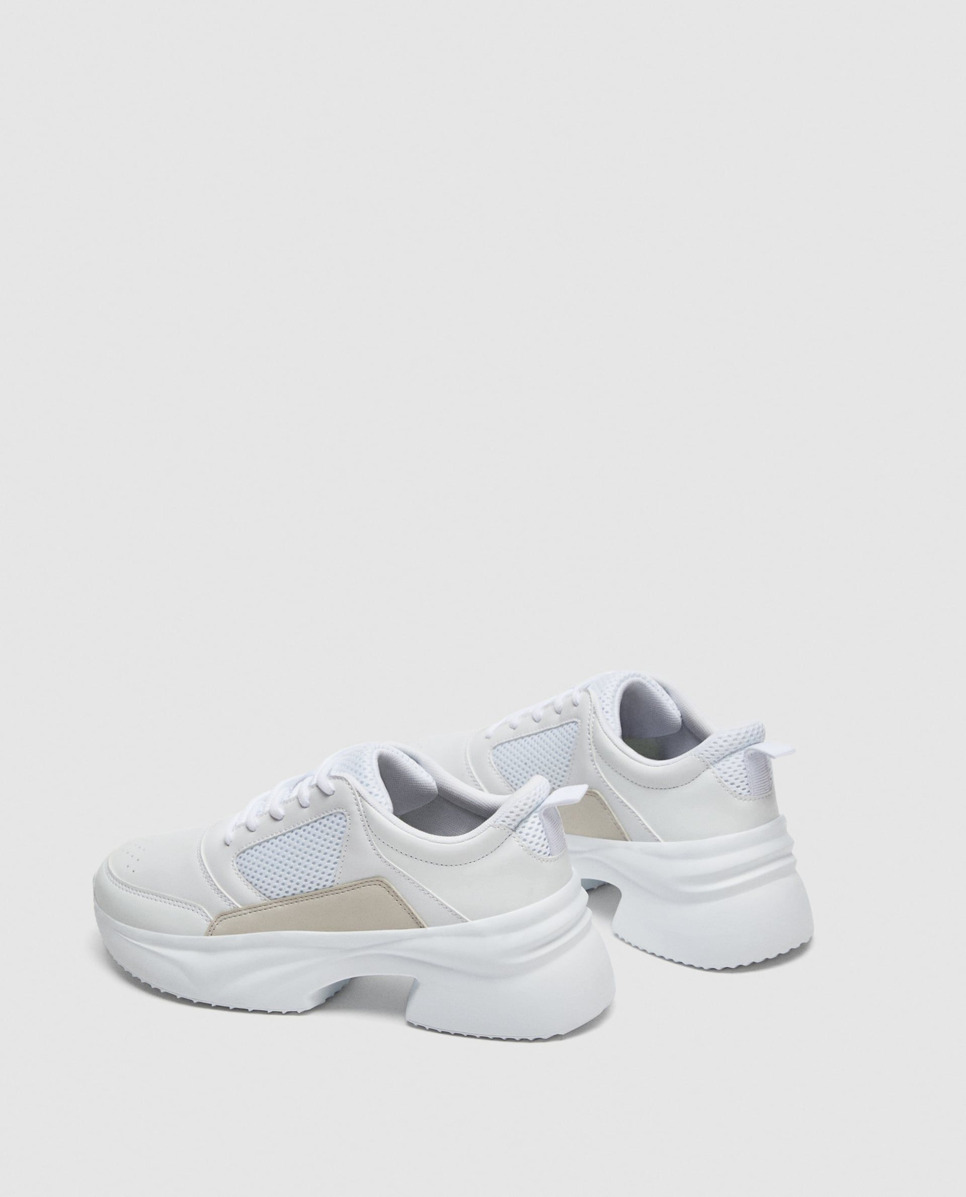 0a6dca71cec Thick soled sneakers | Clothes | Zara sneakers, Sneakers, Vans sneakers