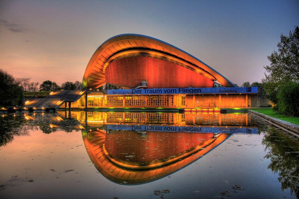 Berlin Haus Der Kulturen Der Welt 02 World Cultures Natural Phenomena Architecture