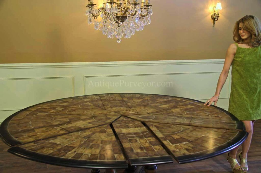 Nice Epic Round Dining Room Tables For 10 94 For Your Home