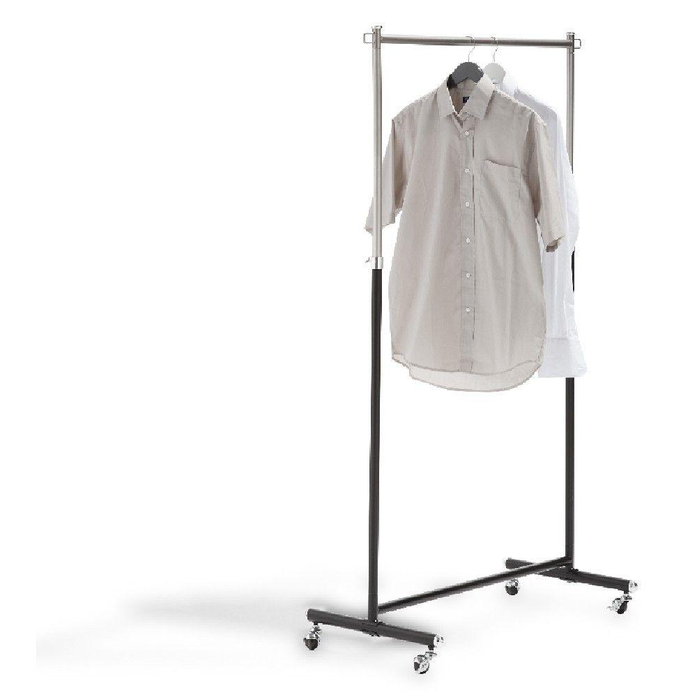 Portant Et Valet De Chambre Vêtements Noirs Dressing