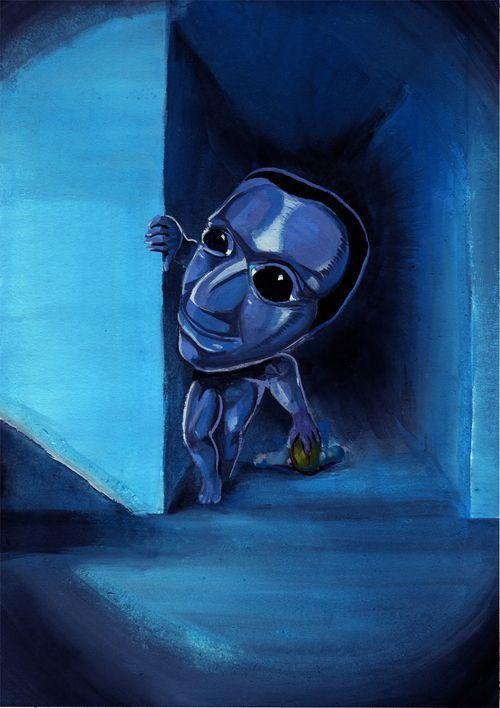 Ao Oni Rpg Horror Games Creepy Games Horror Game