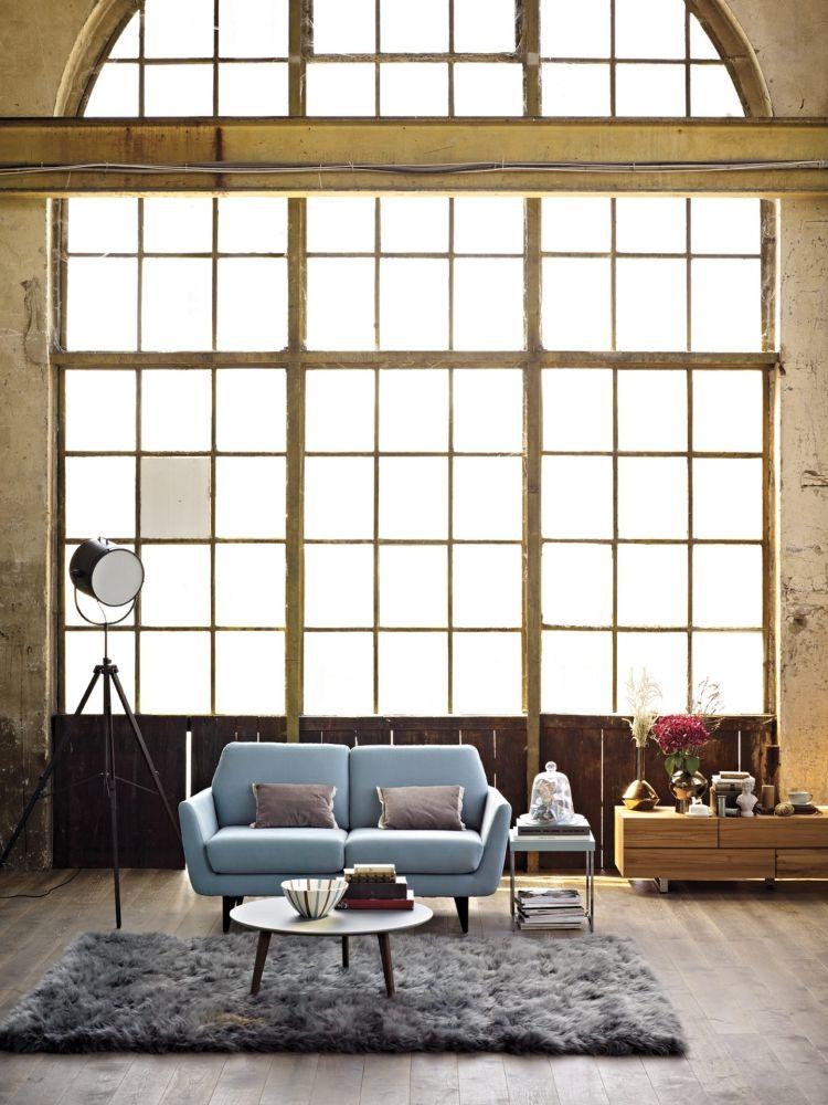 Pfister Sofa Gianne Carpet Velvet Architektur Innenarchitektur