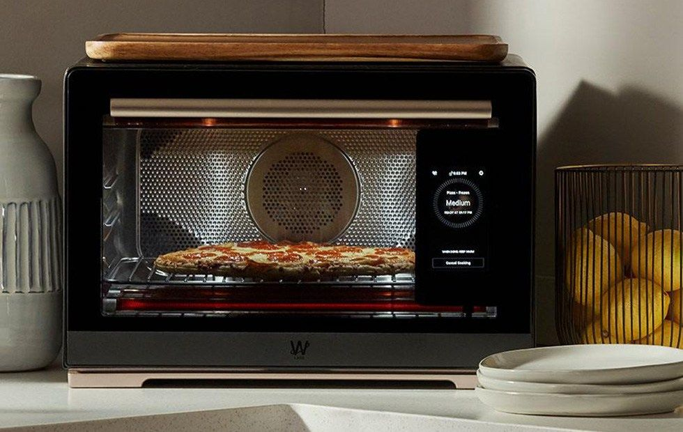New Smart Oven Identifies Food And Cooks It Details Countertop Oven Oven Canning Oven