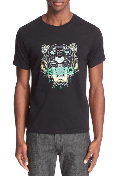 2f6cf002 KENZO 'Classic Tiger' Graphic T-Shirt | Shirt | Mens cotton t shirts ...