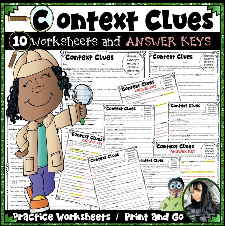 Context Clues Practice Worksheets Context Clues Context Clues Lesson Context Clues Examples [ 1251 x 1242 Pixel ]