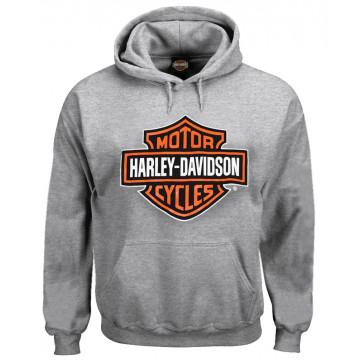 Harley-Davidson Men/'s #1 TNT Zippered Hooded Sweatshirt Black R001826
