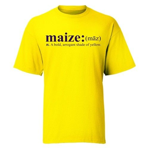 a2d58446cf6a Maize Definition Tee At Campus Den