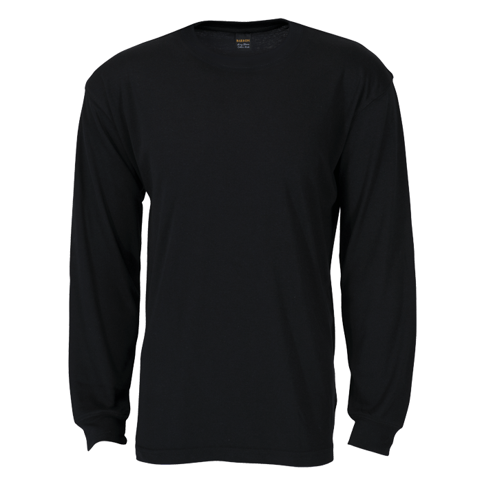 Download Free Tshirt Template Black Long Sleeve Kaos Pakaian Desain