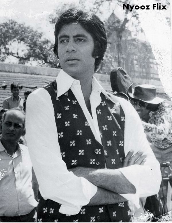 Amitabh Bachchan on the sets of Don... Amitabh Bachchan original image #RealDon   #amitabhbachchan