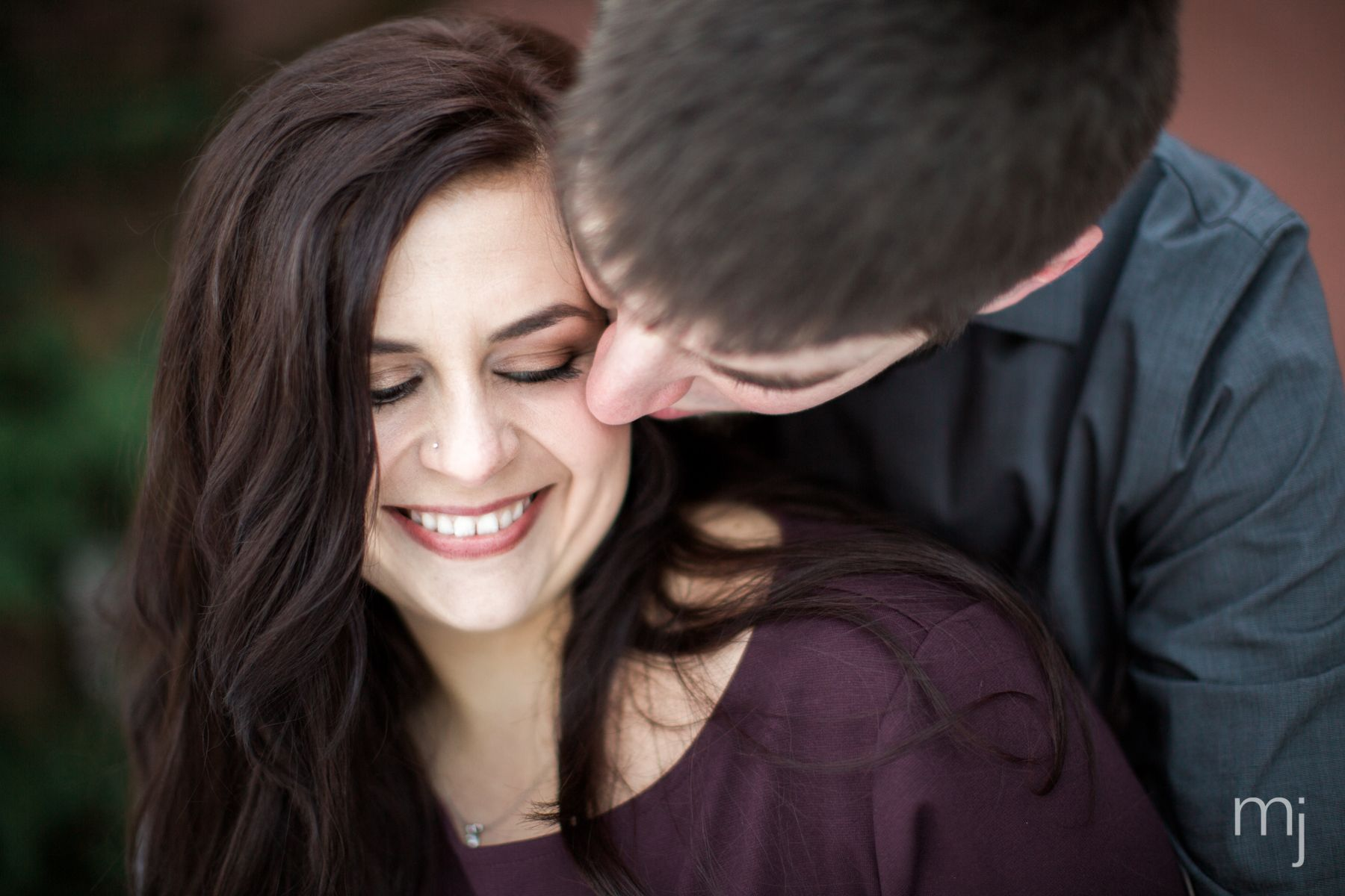 Winter Engagement session in Salem, MA.  Photography by: MeredithJanePhoto.com