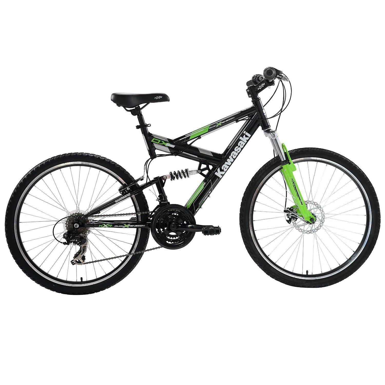 Kawasaki Dx Full Suspension Mountain Bike 26 Inch Wheels