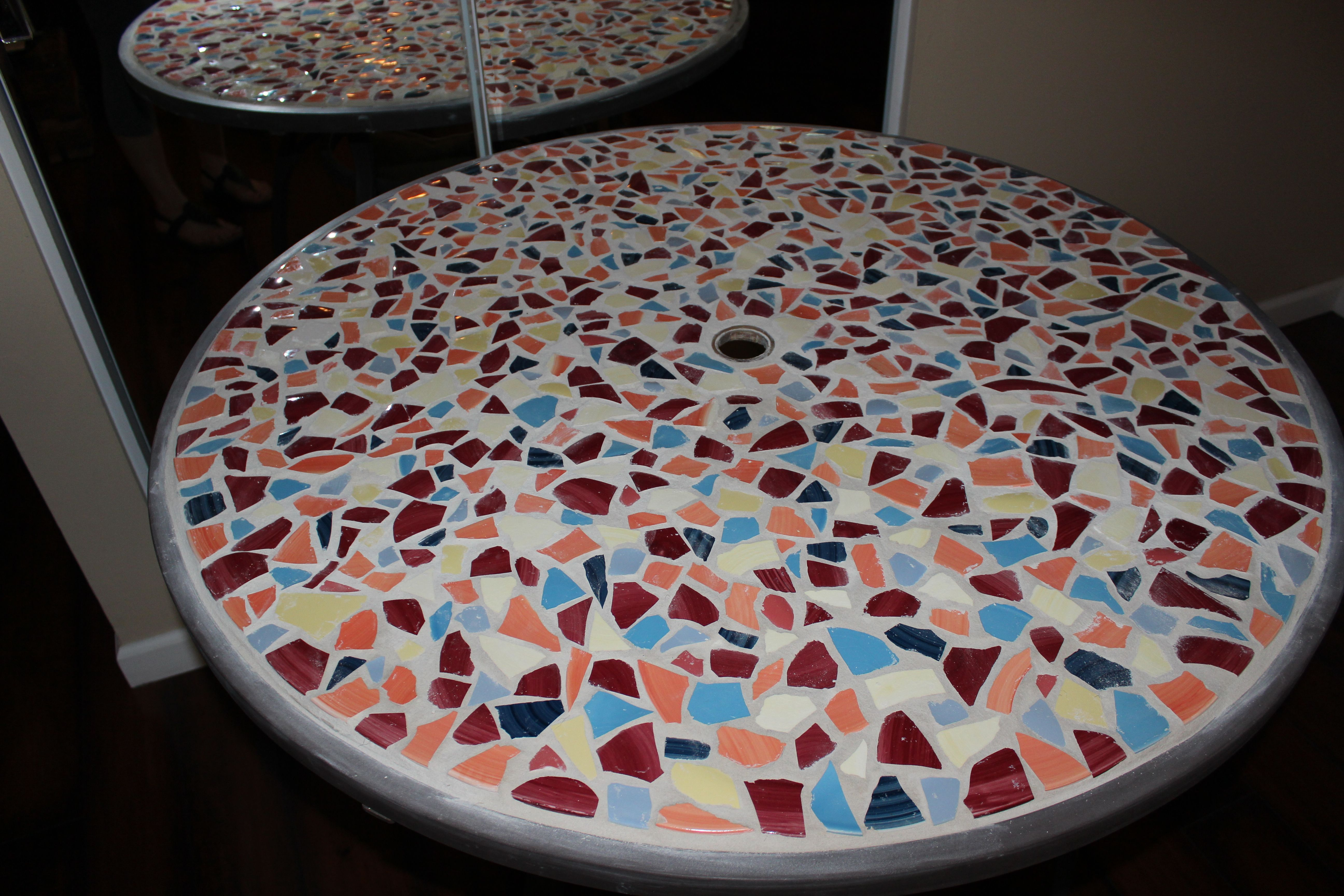 Broken glass top on table no problem i replaced the top