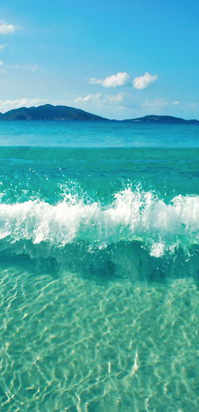 Pic Of The Day Turquoise Rush Beach Waves Water