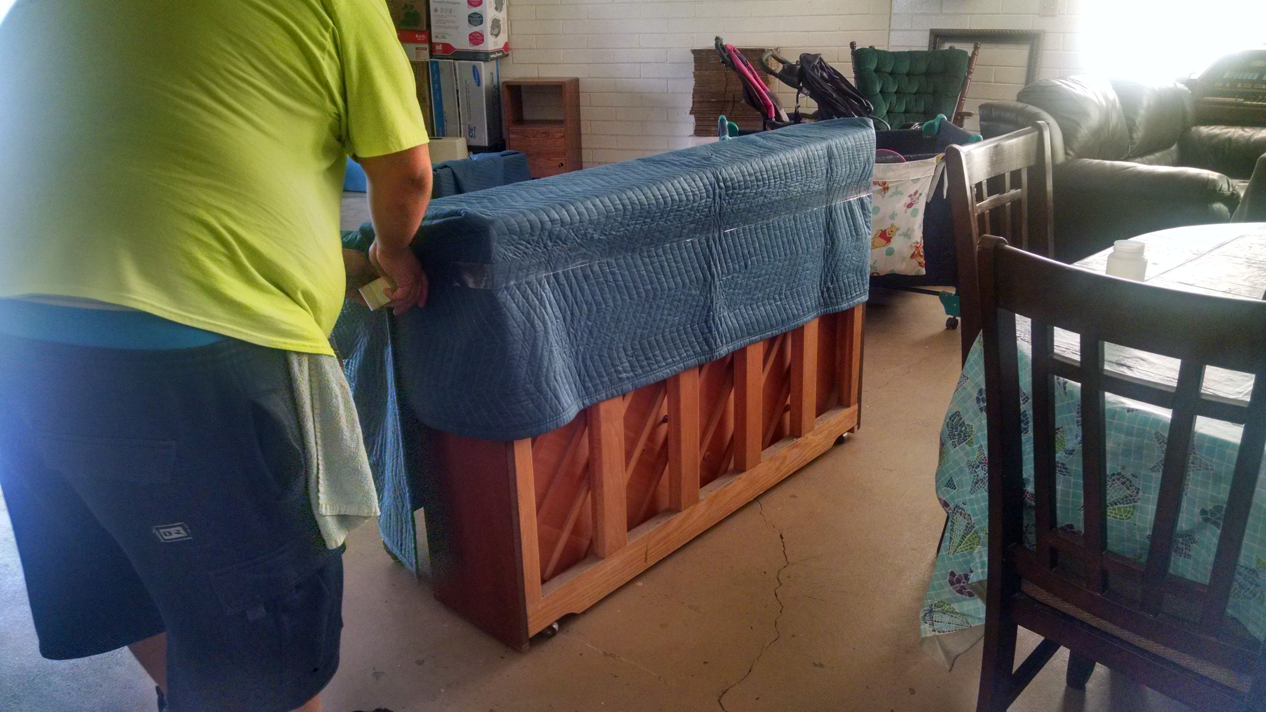 how to move an upright piano on carpet