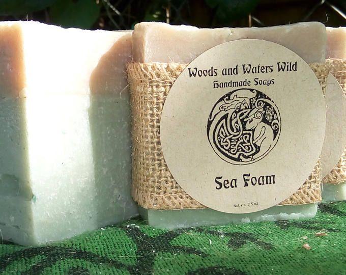 Sea Foam Soleseife | Handmade soap | Natural soap | Saltwater soap |