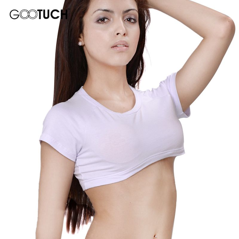 f6b60bb219676 New 2016 Sexy Elastic Crop Top Fashion Women Publicize Midriff Cropped  Tanks Top Sexy Girl See