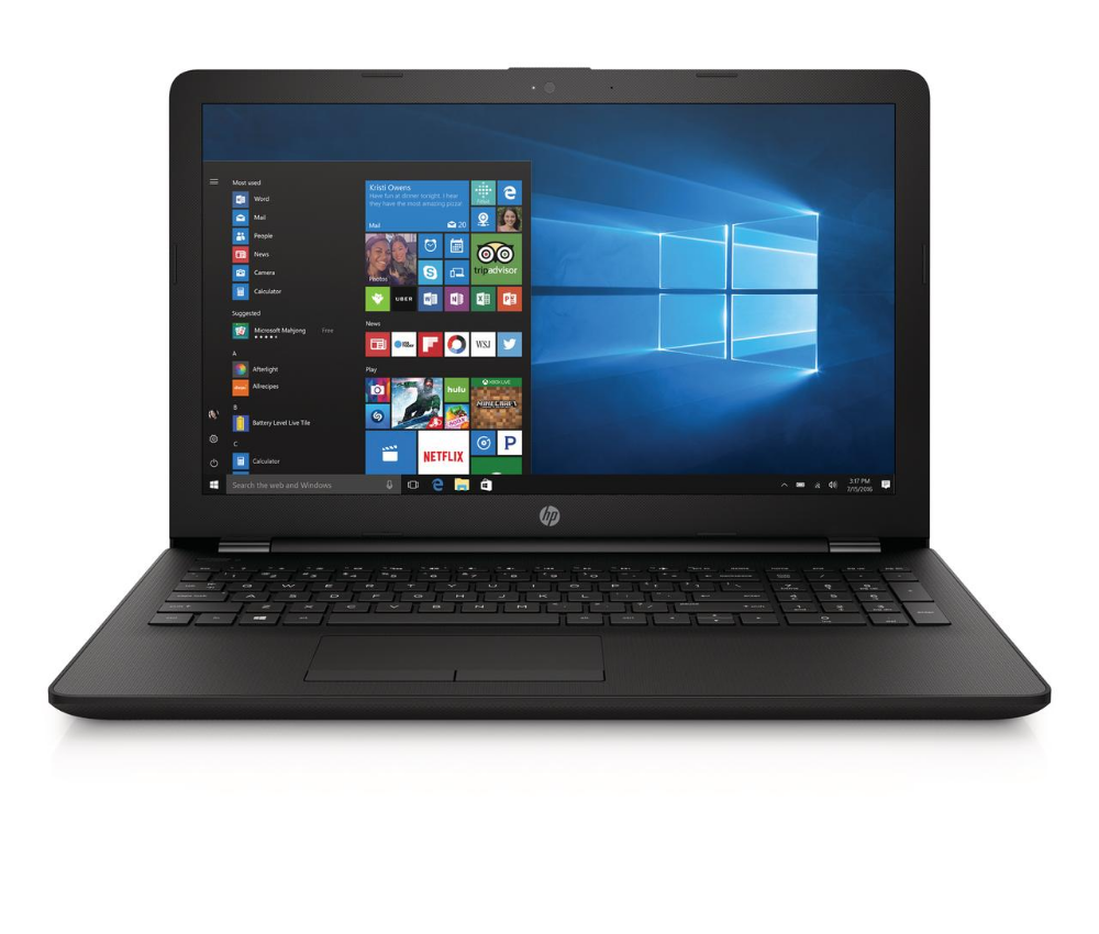 Hp 15 6 Laptop Intel Celeron N4000 4gb Ram 500gb Hard Drive Dvd Writer Windows 10 Jet Black 15 Bs212wm Walmart Com Hp Laptop Hp 17 Hd Notebook