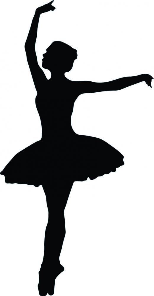 Ballet Dancer Silhouette - 27 : Custom Wall Decals, Wall Decal Art, and Wall Decal Murals   WallMonkeys.com