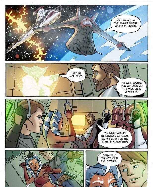 Порно star wars комикс