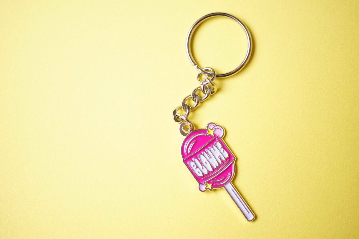 A personal favorite from my Etsy shop https://www.etsy.com/listing/464929606/blow-me-keychain-soft-enamel