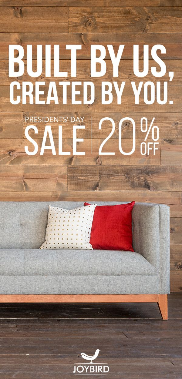 Delicieux Joybird Likes To Do Things A Little Differently. They Believe That Furniture  Should Be Custom Made To Fit You And Your Home. Take 20% Off Everything  Right ...