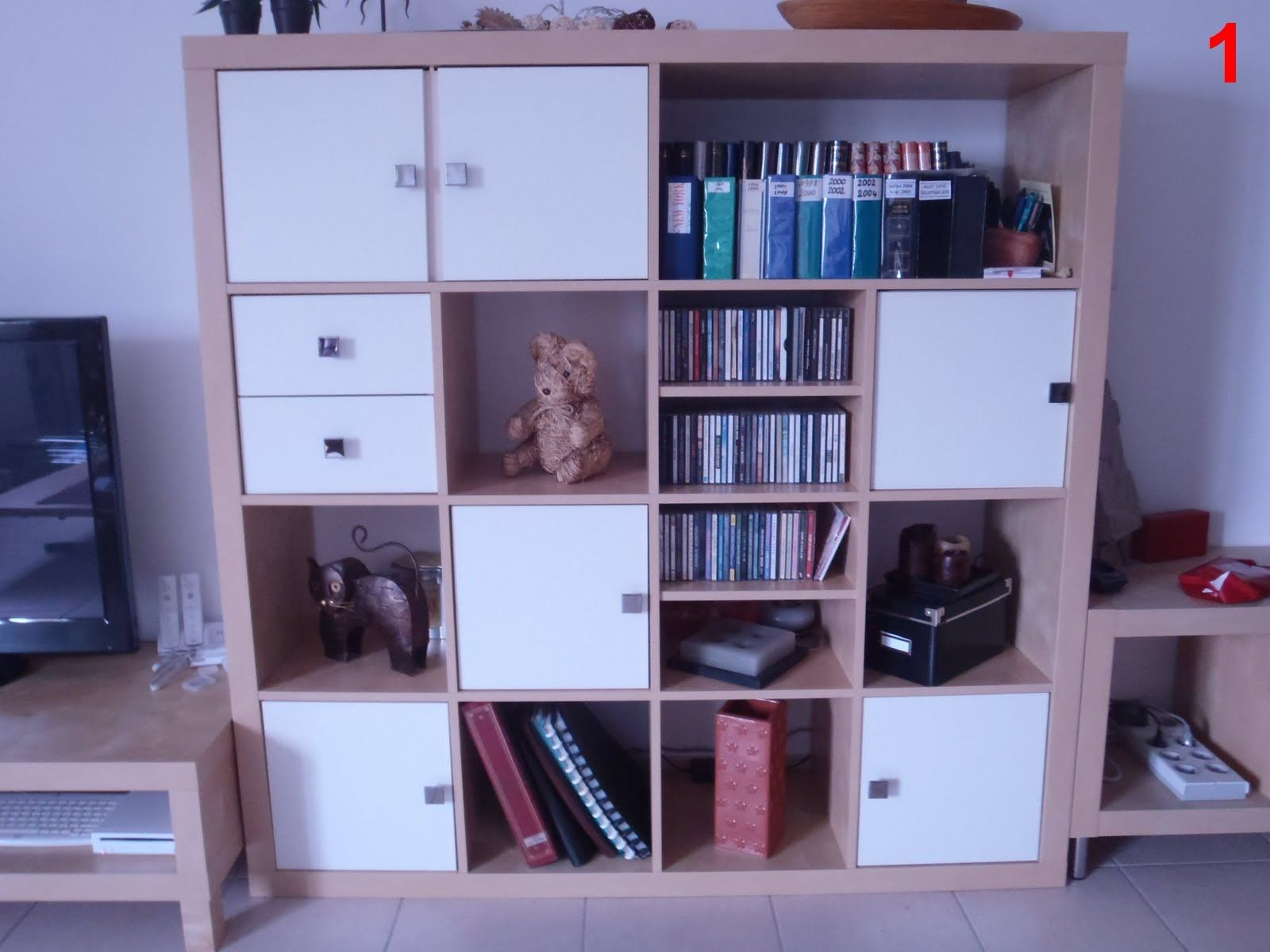 Ikea Kallax Cd Storage Buffet Expedit Kid Crafts Activities Ikea Furniture Hacks
