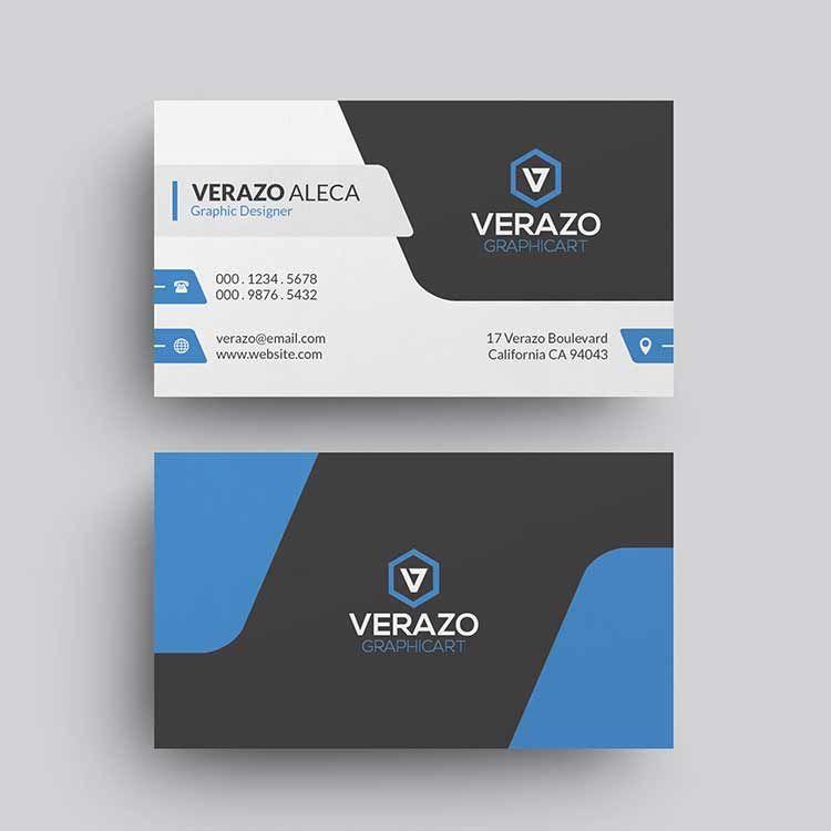 Pin By Hussein Alaa On هثرب Corporate Business Card Business Card Template Business Card Template Psd