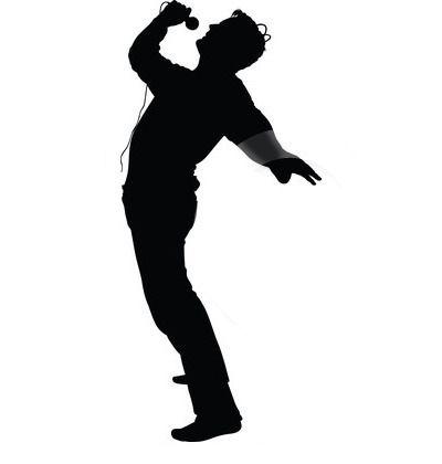 Singer Clip Art Synkee Silhouette Clip Art Silhouette Art Silhouette