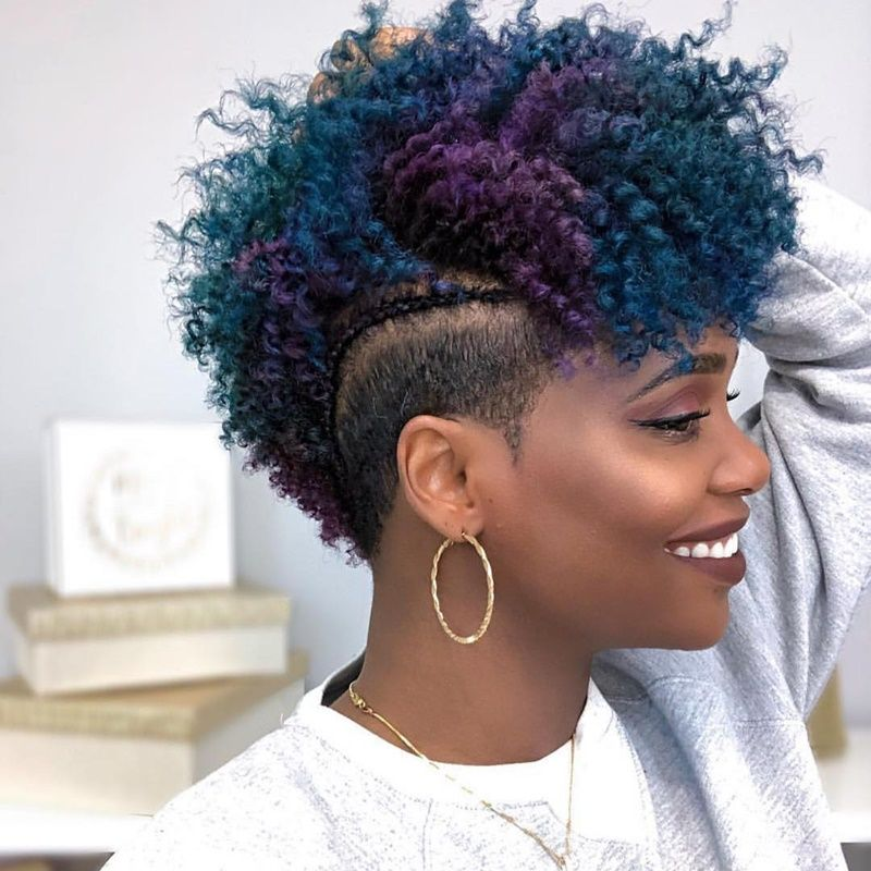 40 Short Hairstyles For Black Women December 2020 Natural Hair Styles Tapered Natural Hair Hair Styles