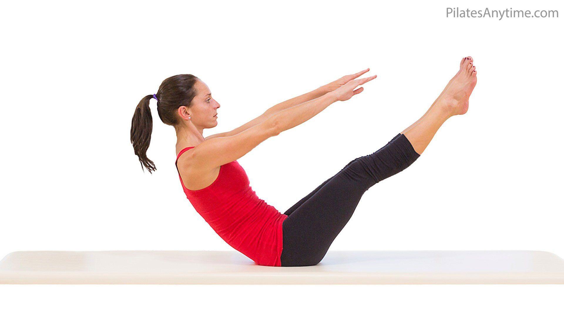 Teaser | Pilates workout, Mat pilates workout, Pilates