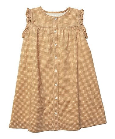 Another great find on #zulily! Barley Dot Baby Doll Dress - Toddler & Girls #zulilyfinds