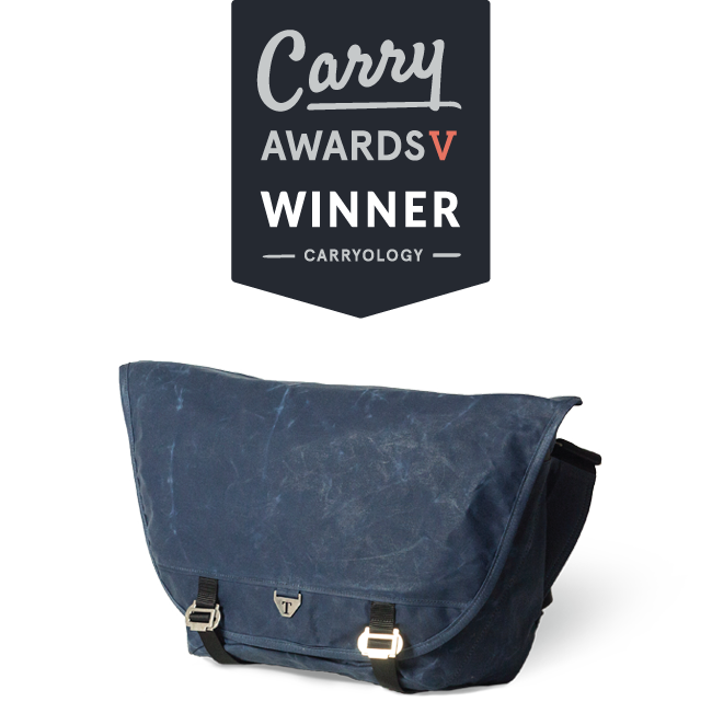 a17b8b7b1 The Award Winning Wee Lug Messenger Bag by Trakke, made from waxed canvas.  Voted