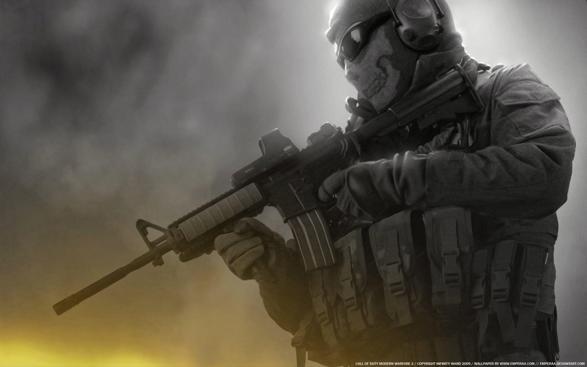 Soldier Digital Wallpaper Skull Glasses Soldiers Machine Ghost Modern Warfare 2 Call Of Duty Unloadi In 2020 Call Of Duty Ghosts Digital Wallpaper Modern Warfare