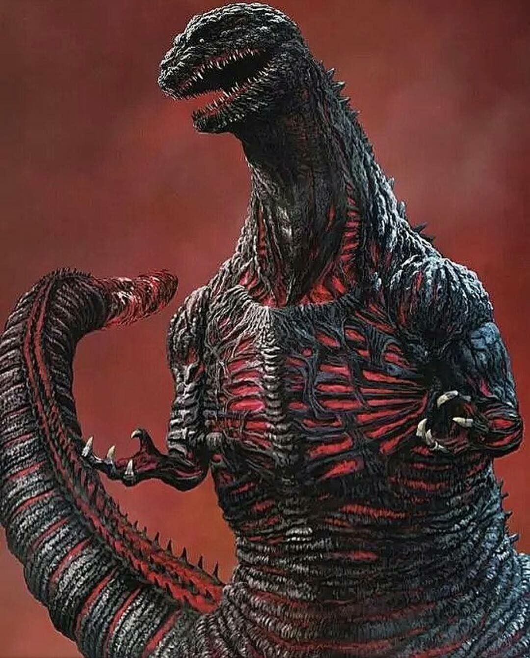 Shin Godzilla Fan Art Godzilla wallpaper, Kaiju monsters