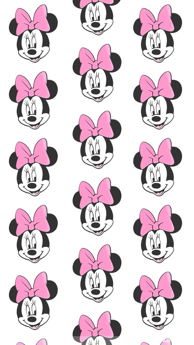 Minnie Mouse Iphone Wallpaper Background Minnie Papel De Parede