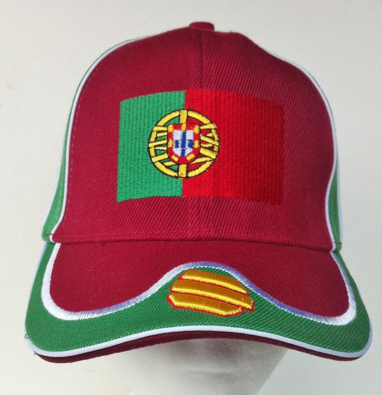 75b60b34aee PORTUGAL AZORES LISBON FLAG SPORT SOCCER TENNIS HAT CAP Sports Flags