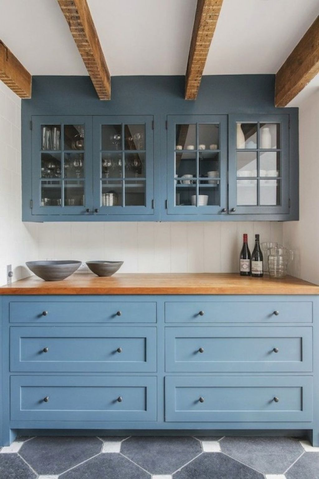 90 Pretty Farmhouse Kitchen Cabinet Design Ideas | Farmhouse kitchen ...