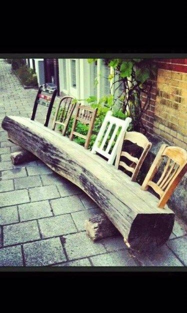 Brilliant Incredible Wooden Log Seating Ideas Amazing Gardens Download Free Architecture Designs Embacsunscenecom