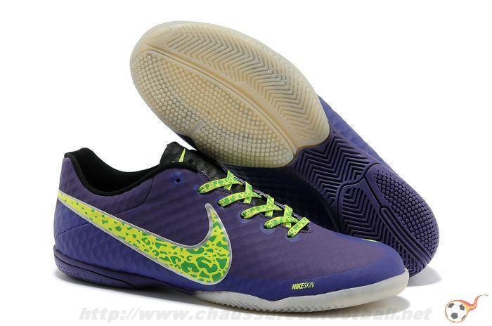 sale retailer c9dc1 4a5bd ... Chaussure de futsal Nike Elastico Finale II Mauve FT3166 ...
