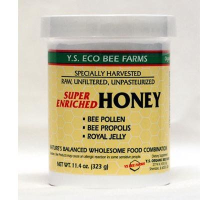 Enriched Honey - 16,000 mg Bee Pollen YS Eco Bee Farms 11.4 oz. Liquid - http://flowersnhoney.com/enriched-honey-16000-mg-bee-pollen-ys-eco-bee-farms-11-4-oz-liquid/