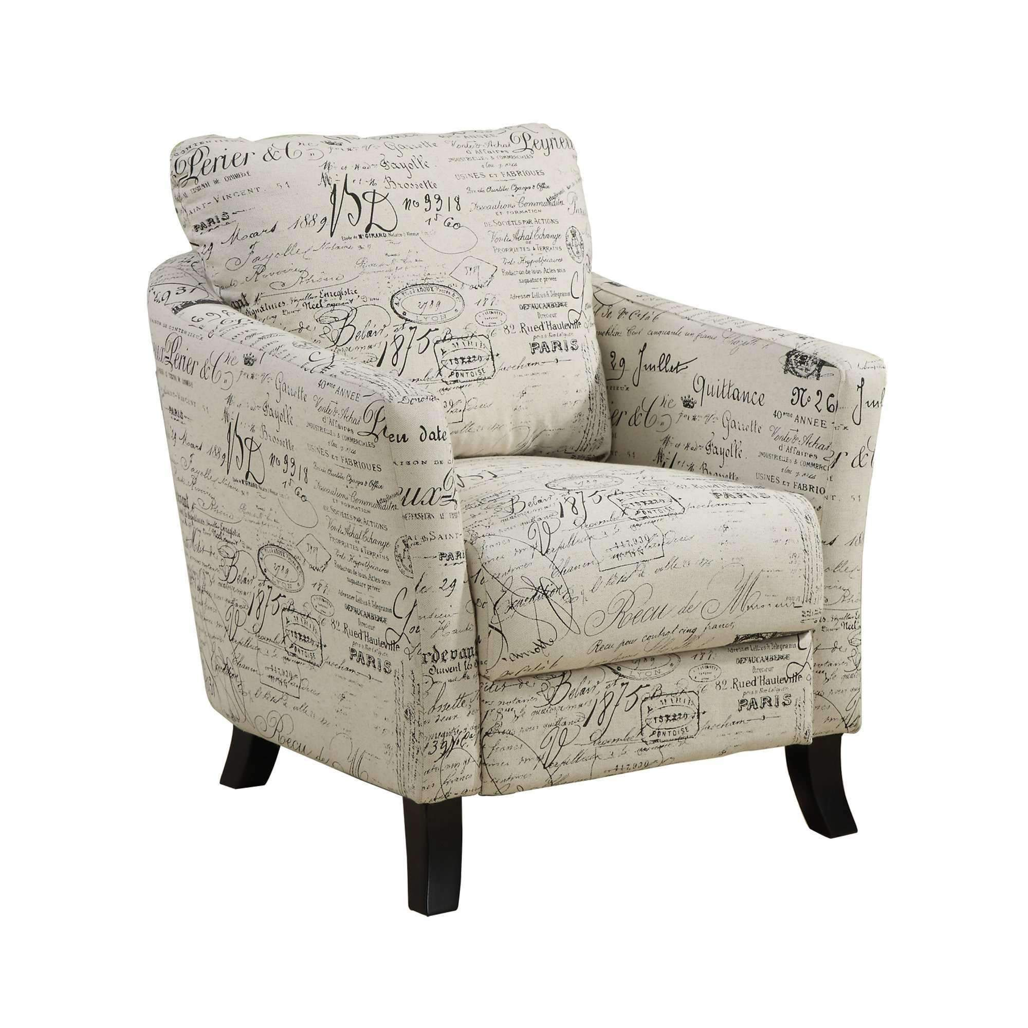 Best Accent Chair Vintage French Fabric Fabric Accent Chair 400 x 300