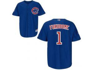 MLB Chicago Cubs #1 Kosuke Fukudome Blue Jersey