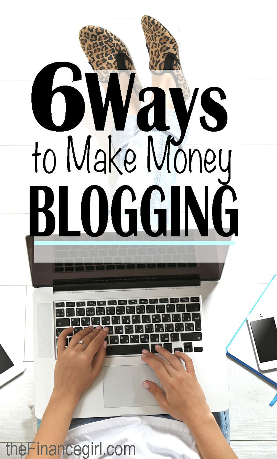 Learn how you can actually make money blogging (and the many different ways that bloggers make a living online and how you can, too) | Financegirl