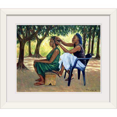 Great Big Canvas & # 39; The Hairdresser, 2001 & # 39; von Tilly Willis Gemälde Druck …