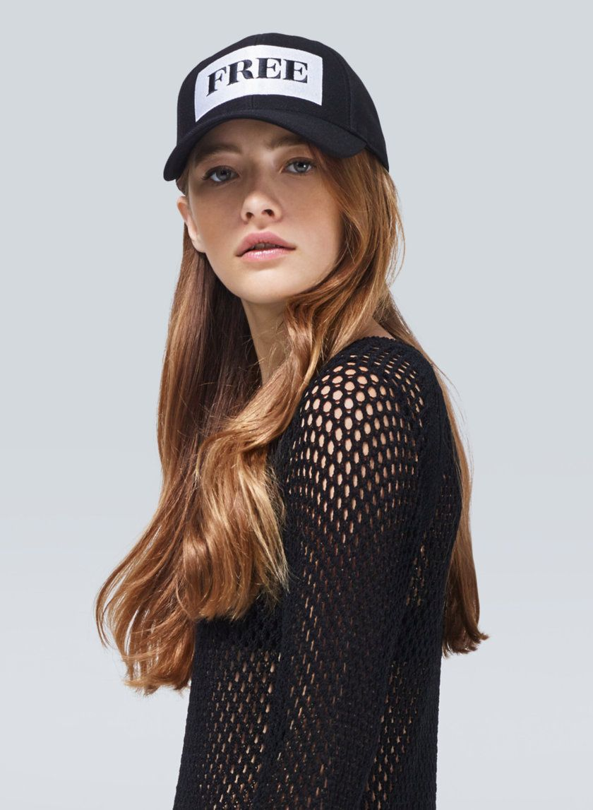 4904c8f6ef884 pretty model. ixnay on the outfit  b Wilfred Free DECKER HAT ...