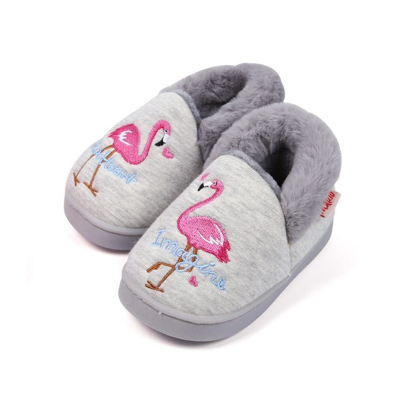 CoKate Baby Boys Girls Soft Plush Slippers Bear PAW Animal Boots Toddler Infant Crib Shoes Winter House Shoes