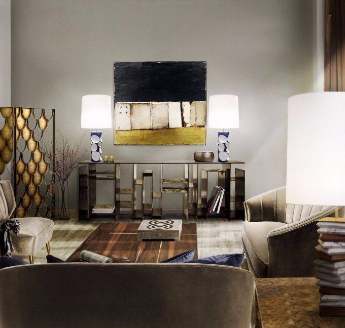 Einzigarte und moderne Wohnzimmer für Ihr zu Hause Black white - moderne lampen für wohnzimmer